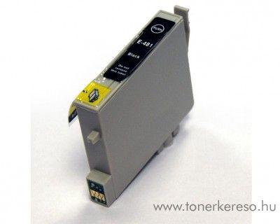 Epson Photo R200/R300/RX500 fekete tintapatron GGT048B Epson Stylus Photo R300 tintasugaras nyomtatóhoz