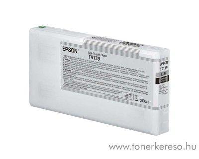Epson SC-P5000 eredeti light light black tintapatron T913900 Epson SureColor SC-P5000 STD tintasugaras nyomtatóhoz