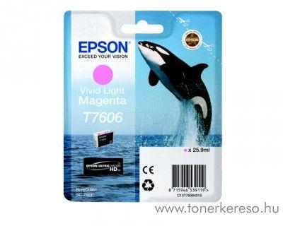 Epson SC-P600 eredeti light magenta tintapatron C13T76064010