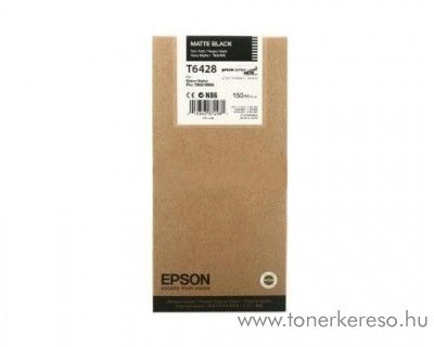 Epson Stylus Pro 7700 eredeti matt fekete tintapatron C13T642800 Epson Stylus Pro 9890 SpectroProofer UV tintasugaras nyomtatóhoz