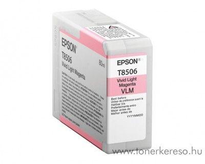 Epson SureColor P800 eredeti light magenta patron C13T850600 Epson SureColor SC-P800 tintasugaras nyomtatóhoz