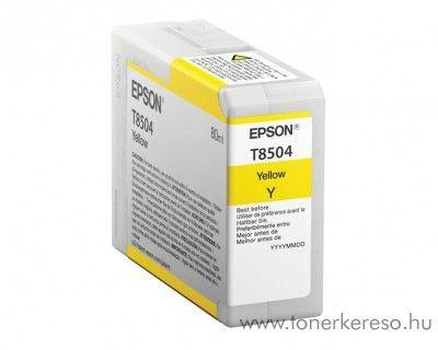 Epson SureColor P800 eredeti yellow tintapatron C13T850400