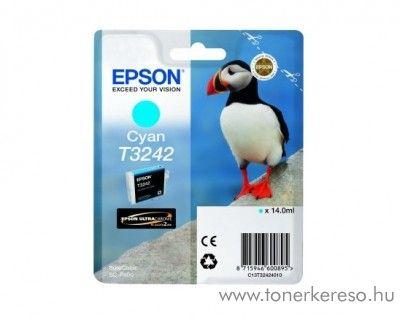 Epson SureColor SC-P400 eredeti cyan tintapatron T32424010 Epson SureColor SC-P400 tintasugaras nyomtatóhoz