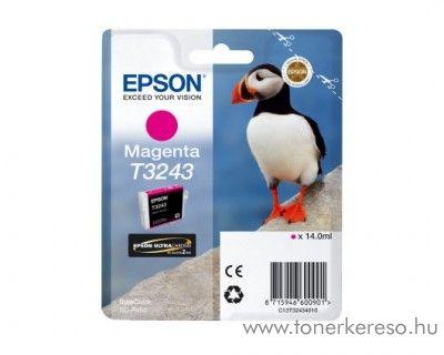 Epson SureColor SC-P400 eredeti magenta tintapatron T32434010