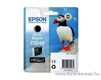 Epson SureColor SC-P400 eredeti matte black patron T32484010 Epson SureColor SC-P400 tintasugaras nyomtatóhoz