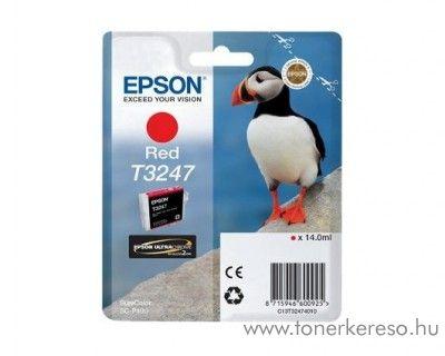 Epson SureColor SC-P400 eredeti red tintapatron T32474010 Epson SureColor SC-P400 tintasugaras nyomtatóhoz