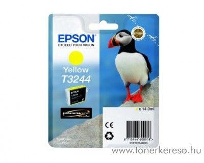 Epson SureColor SC-P400 eredeti yellow tintapatron T32444010 Epson SureColor SC-P400 tintasugaras nyomtatóhoz