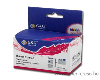 Epson Photo 900/1270/1280/1290 színes tintapatron G&G GGT009