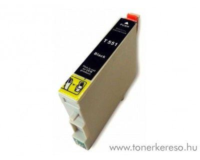 Epson T0551 fekete utángyártott tintapatron Epson Stylus Photo R245 tintasugaras nyomtatóhoz