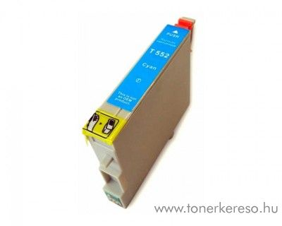 Epson T0552 cyan utángyártott tintapatron Epson Stylus Photo RX420 tintasugaras nyomtatóhoz