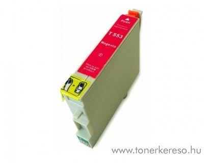 Epson T0553 magenta utángyártott tintapatron