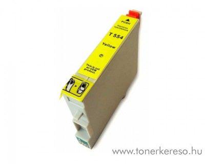 Epson T0554 yellow utángyártott tintapatron Epson Stylus Photo R245 tintasugaras nyomtatóhoz