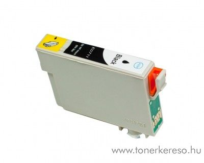Epson T0711 fekete utángyártott tintapatron OB Epson Stylus SX218 tintasugaras nyomtatóhoz