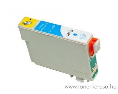 Epson T0712 cyan utángyártott tintapatron OB  Epson Stylus Office BX300F tintasugaras nyomtatóhoz