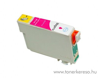 Epson T0713 magenta utángyártott tintapatron OB  Epson Stylus Office BX300F tintasugaras nyomtatóhoz