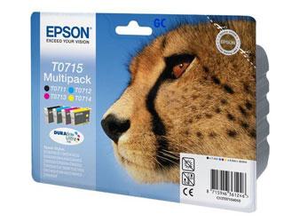 Epson Tintapatron T071540 Epson Stylus Office BX310FN tintasugaras nyomtatóhoz