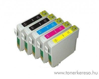 Epson T071X 5 db-os utángyártott tintapatron csomag Epson Stylus DX8400 tintasugaras nyomtatóhoz