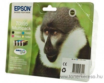Epson T0895 eredeti multipack tintapatron C13T08954010  Epson Stylus Office BX300F tintasugaras nyomtatóhoz