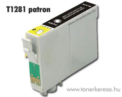 OP Epson T1281 fekete utángyártott tintapatron (SX130/SX425) Epson Stylus Office BX305F tintasugaras nyomtatóhoz