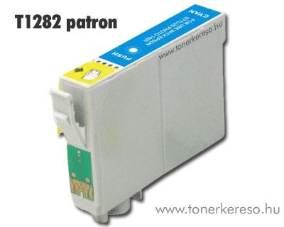 OP Epson T1282 cyan utángyártott tintapatron (SX130/SX425) Epson Stylus SX420W tintasugaras nyomtatóhoz