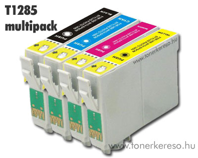 OP Epson T1285 multipack utángyártott tintapatron csomag (SX130/ Epson Stylus Office BX305F tintasugaras nyomtatóhoz