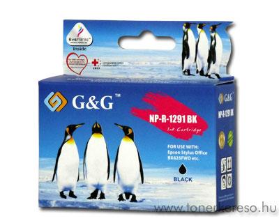 Epson T1291 fekete kompatibilis/utángyártott tintapatron G&G GGT Epson Stylus SX230 tintasugaras nyomtatóhoz