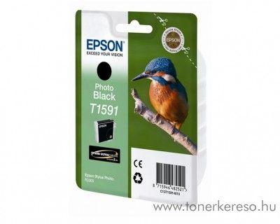 Epson T1591 eredeti fekete black tintapatron C13T15914010