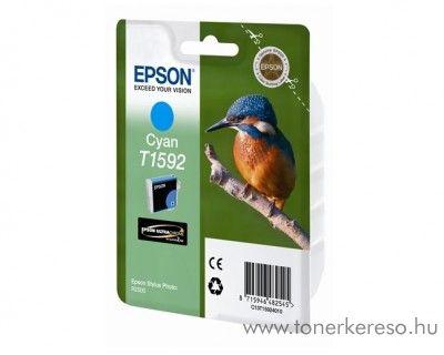 Epson T1592 eredeti cyan tintapatron C13T15924010 Epson Stylus Photo R2000 tintasugaras nyomtatóhoz