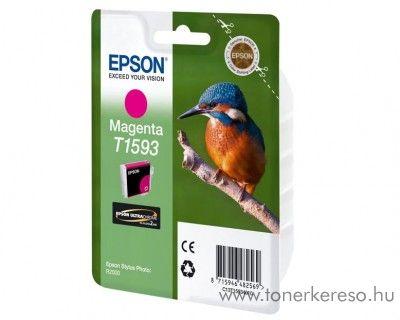Epson T1593 eredeti magenta tintapatron C13T15934010 Epson Stylus Photo R2000 tintasugaras nyomtatóhoz