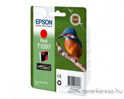 Epson T1597 eredeti red tintapatron C13T15974010 Epson Stylus Photo R2000 tintasugaras nyomtatóhoz