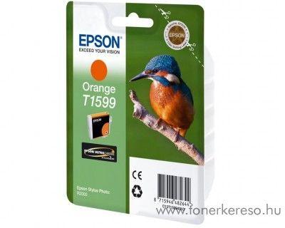 Epson T1599 eredeti orange tintapatron C13T15994010 Epson Stylus Photo R2000 tintasugaras nyomtatóhoz