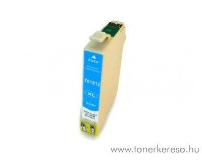 Epson T1812 utángyártott 18XL cyan tintapatron RBT1812 Epson Expression Home XP-212 tintasugaras nyomtatóhoz