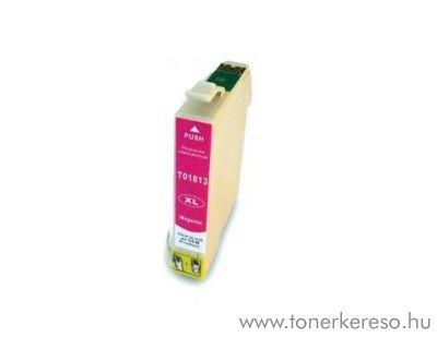 Epson T1813 utángyártott 18XL magenta tintapatron RBT1813