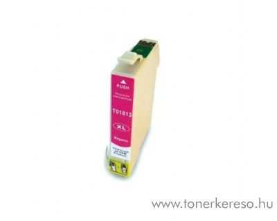 Epson T1813 utángyártott 18XL magenta tintapatron RBT1813 Epson Expression Home XP-405 tintasugaras nyomtatóhoz