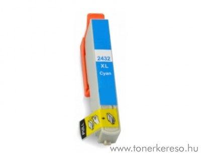 Epson T2432C nagykapacitású kompatibilis/utángyártott patron Epson Expression Photo XP-860 tintasugaras nyomtatóhoz