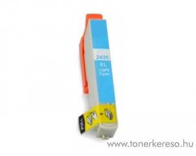 Epson T2435LC nagykapacitású kompatibilis/utángyártott patron Epson Expression Photo XP-750 tintasugaras nyomtatóhoz