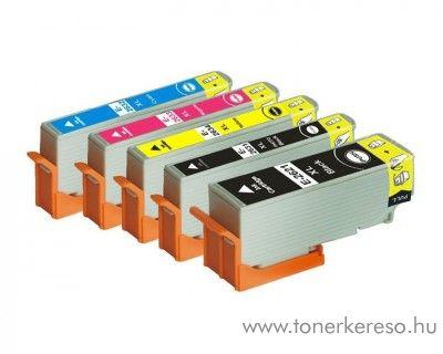 Epson T26X 5 db-os utángyártott tintapatron csomag Epson Expression Premium XP800 tintasugaras nyomtatóhoz