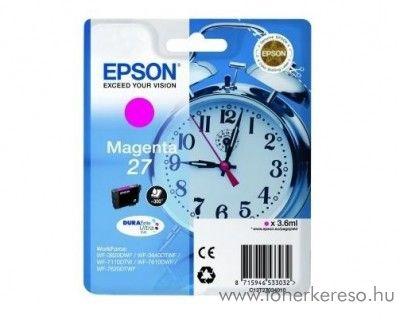 Epson T2703 eredeti magenta tintapatron C13T27034010 Epson WorkForce WF-3620DWF tintasugaras nyomtatóhoz