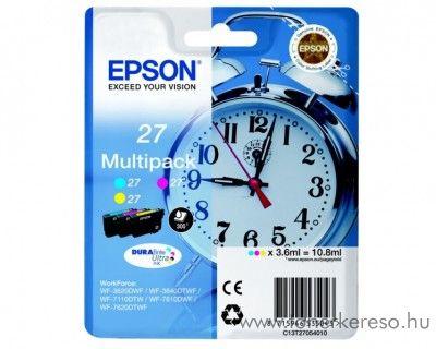 Epson T2705 eredeti tintapatron multipack C13T27054010 Epson WorkForce WF-7620DTWF tintasugaras nyomtatóhoz