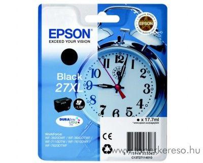 Epson T2711 eredeti fekete XL tintapatron C13T27114010 Epson WorkForce WF-3620DWF tintasugaras nyomtatóhoz