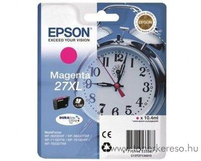 Epson T2713 eredeti magenta XL tintapatron C13T27134010 Epson WorkForce WF-3620DWF tintasugaras nyomtatóhoz
