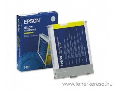 Epson T461 eredeti yellow tintapatron C13T461011 Epson Stylus Pro 7000 tintasugaras nyomtatóhoz