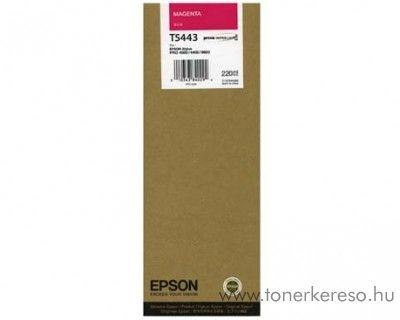 Epson T5443 eredeti magenta nagykap. tintapatron C13T544300 Epson Stylus Pro 4000-C8 tintasugaras nyomtatóhoz