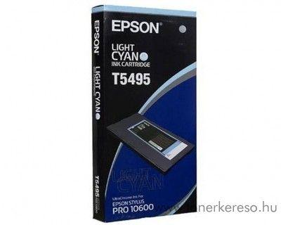 Epson T5495 eredeti light cyan tintapatron C13T549500 Epson Stylus Pro 10600 tintasugaras nyomtatóhoz