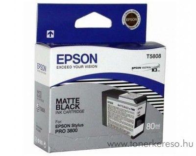 Epson T5808 eredeti matt fekete black tintapatron C13T580800 Epson Stylus Pro 3880 tintasugaras nyomtatóhoz