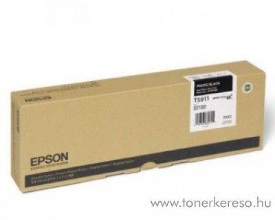 Epson T5911 eredeti photo fekete black tintapatron C13T591100 Epson Stylus Pro 11880 tintasugaras nyomtatóhoz