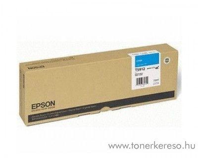 Epson T5912 eredeti cyan tintapatron C13T591200 Epson Stylus Pro 11880 tintasugaras nyomtatóhoz