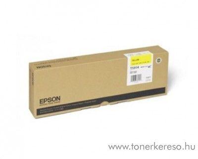 Epson T5914 yellow eredeti tintapatron C13T591400 Epson Stylus Pro 11880 tintasugaras nyomtatóhoz