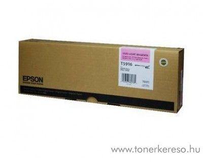 Epson T5916 light magenta eredeti tintapatron C13T591600 Epson Stylus Pro 11880 tintasugaras nyomtatóhoz