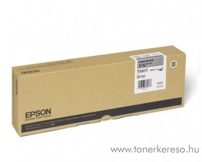 Epson T5917 light black eredeti tintapatron C13T591700